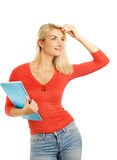 привлекательная девушка подростковая стоковая фотография