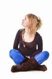 привлекательная девушка Стоковая Фотография RF