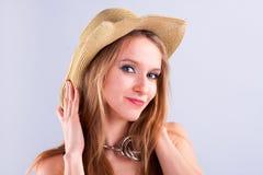 привлекательная девушка стоковое изображение
