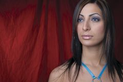 привлекательная женщина портрета Стоковая Фотография RF