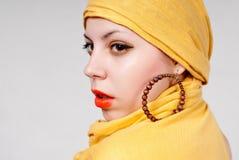 привлекательная женщина портрета Стоковые Фото