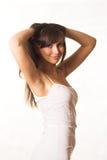 привлекательная женщина Стоковые Изображения RF