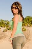 привлекательная женщина Стоковое Изображение RF
