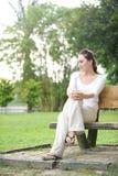 Привлекательная здоровая азиатская женщина стоковое изображение