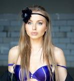 привлекательная красивейшая женщина Стоковое Фото