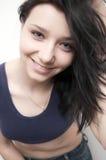 Привлекательная молодая женщина стоковое фото