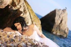 привлекательная невеста Стоковое фото RF