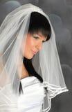 привлекательная невеста стоковые изображения rf