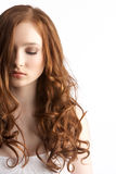 привлекательная студия девушки подростковая стоковые изображения