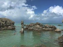 Привлекательности в Бермудских Островах стоковые изображения
