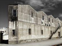 Привлекательно старомодный историческая фабрика Стоковое Изображение