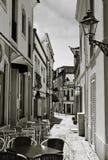 привлекательно старомодный улица стоковое фото