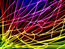 Привлекательные нервюры и стержни иллюстрация штока