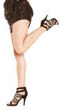 привлекательные ноги стоковое изображение