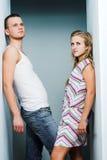 привлекательные пары Стоковая Фотография
