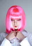 привлекательные японцы делают портрет вверх по женщине стоковые фото