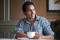 привлекательный индийский человек 3 стоковая фотография