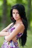 привлекательный испанец девушки пущи Стоковая Фотография RF