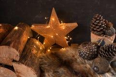 Привлекательный натюрморт рождества стоковая фотография rf