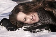 привлекательный портрет девушки Стоковая Фотография RF