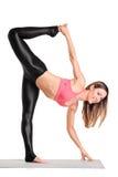 Привлекательный работать инструктора pilates Стоковые Фотографии RF