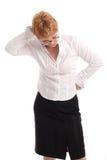 привлекательный спуск смотря возмужалую женщину Стоковые Фото
