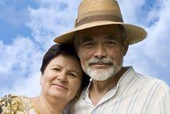 привлекательный старший пар Стоковые Изображения RF