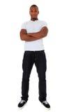 Привлекательный чернокожий человек стоковая фотография
