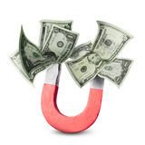 привлекать деньги принципиальной схемы Стоковое Фото