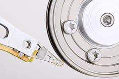 привод диска крупного плана трудный Стоковые Фотографии RF