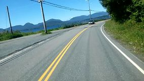 Привод дороги Аляски видеоматериал