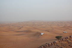 привод пустыни Стоковая Фотография