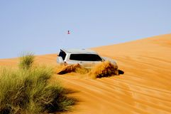 привод пустыни Стоковые Изображения RF