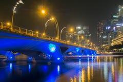 Привод эспланады, Сингапур Стоковая Фотография