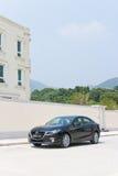Привод испытания версии 2014 Mazda3 JDM Японии Стоковое Изображение