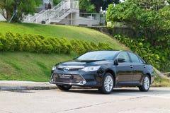 Привод испытания гибрида 2014 Toyota Camry Стоковые Изображения