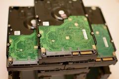 Привод компьютера Sata трудный стоковое фото