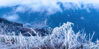 Привод на зоре Стоковые Фотографии RF