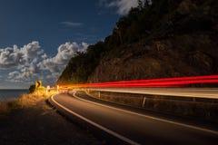 Привод ночи Стоковая Фотография RF