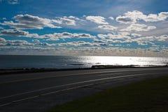 Привод Ньюпорт океана Стоковое фото RF