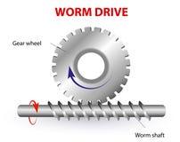 Привод червя или дифференциал Torsen бесплатная иллюстрация