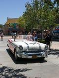 Приводы Мерилин Монро через улицы стоковое изображение rf