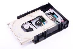 Привод DVD внутрь Стоковые Фото