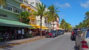 Привод Miami Beach океана акции видеоматериалы
