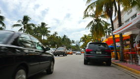 Привод Miami Beach 4k 2 океана акции видеоматериалы