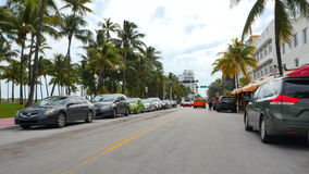 Привод Miami Beach 4k 3 океана акции видеоматериалы