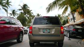 Привод Miami Beach 4k 4 океана сток-видео
