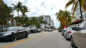 Привод Miami Beach 4k 5 океана сток-видео