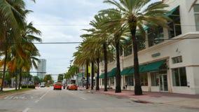 Привод Miami Beach 4k 6 океана видеоматериал
