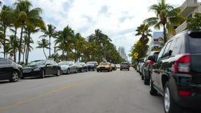 Привод Miami Beach 4k 7 океана сток-видео